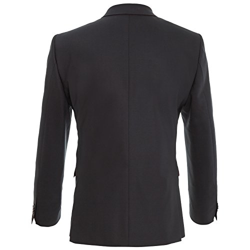 Michaelax-Fashion-Trade - Costume - Uni - Manches Longues - Homme Schwarz (90)