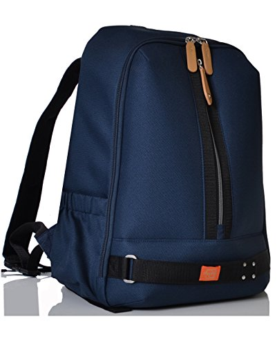 0cd1b2db901a2 PacaPod Picos Pack Navy Designer Baby Changing Bag - Unisex Luxury Blue  Backpack 3 in 1 Organising System
