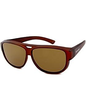 Active Sol Design ÜBERZIEH-SONNENBRILLE | Aviator – Flieger Brille | Sonnen-Überbrille UV400 Schutz | polarisiert...