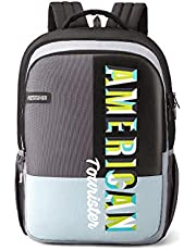 American Tourister Crone 34 Ltrs Black Casual Backpack (FG8 (0) 09 203)