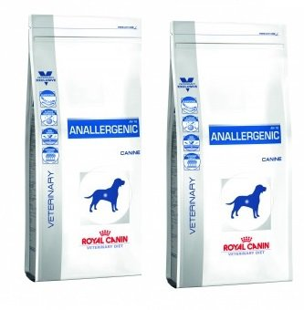 Royal Canin VET DIET AN-Allergenic Trockenfutter für Hunde 2 x 8kg =16kg