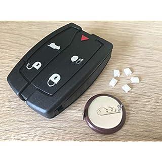 Automobile Locksmith Auto Schlosser-Reparatur-Set für Land Rover Freelander 2 5 Tasten Smart Remote Key Fob Gehäuse Schalter VL2330 Batterie