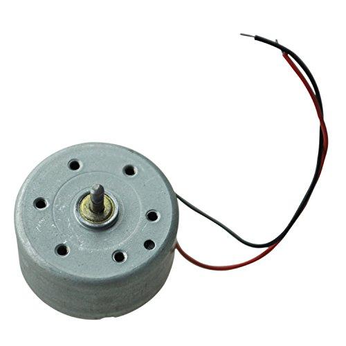 TOOGOO (R) 1700-7300RPM 1.5-6.5V High Torque Zylinder Elektrischer Mini DC Motor (1 Geschwindigkeit Motor)