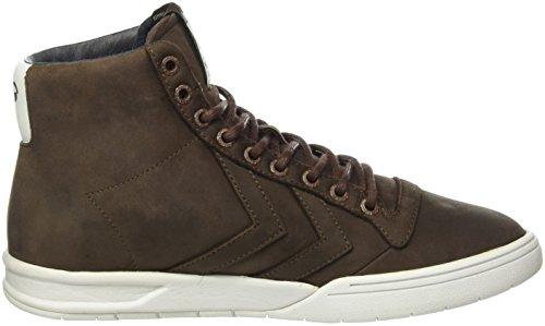 hummel Hml Stadil Winter High Sneaker, Sneakers Hautes Mixte Adulte Marron (Chestnut)