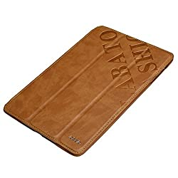 Dies Tasche für iPad Air ist eine praktische und haltbare Smart Cover mit super Preis. Wenn man den Film mit dem iPad air sehen möchtet, kann die Tasche einer bequemen Betrachtungswinkl bieten. Einfach Design für die iPad Air bieten eine tiefe, bemer...