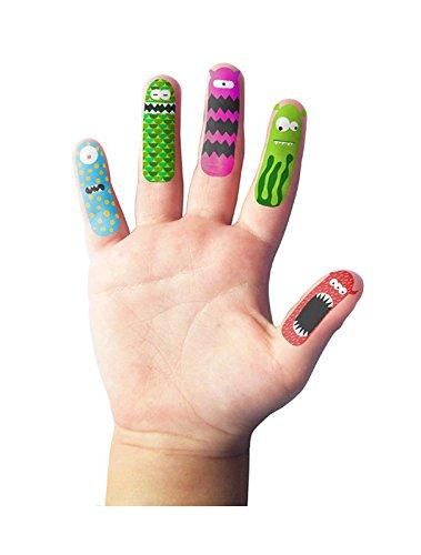 npw Kinder Finger Puppets Tattoo Aufkleber, verschiedene Finger Monsters (Finger-tattoos)
