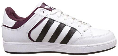 adidas - Varial Low, Scarpe da ginnastica Uomo Bianco (Blanco (Blanco (Ftwbla / Negbas / Buruni)))