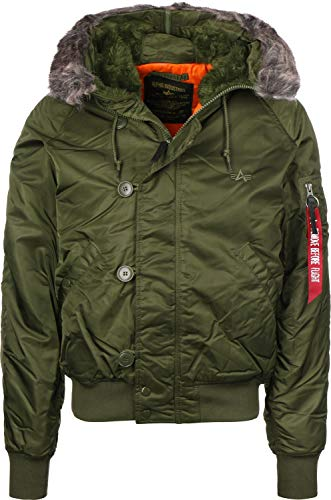Alpha Industries N2-B VF 59 Bomberjacke Dark Green