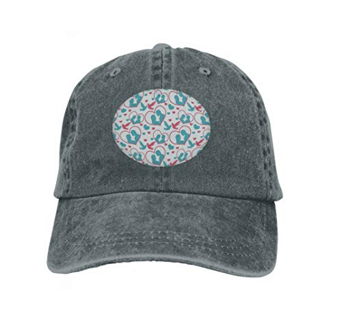 Trucker Hat Unisex Adult Baseball Mesh Cap Happy Valentine s Day Cute Romantic Love Endless Background Carbon