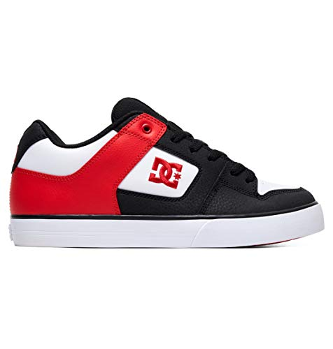 DC Shoes Pure - Leather Shoes for Men - Schuhe - Männer - EU 43 - Schwarz -