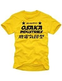 OSAKA INDUSTRIES japan t-shirt S M L XL XXL yellow
