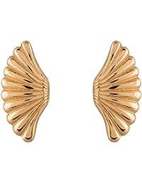 Estelle Gold Plated Stud Earrings For Women