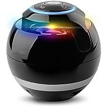 VICTORSTAR @ Inalámbrico Bluetooth Altavoces con Subwoofer Alrededor de Mini Hi-Fi altavoz portátil Altavoces Para Manos libres Bajo Techo, en Exteriores Altavoces Bluetooth Para el iPad Android con Multi-Colores