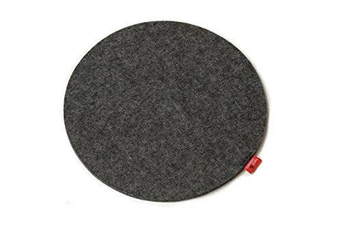 Runde Pack (Pack & Smooch Mousepad Mouse Pad aus 100% Wollfilz Anti-Rutsch Beschichtung)