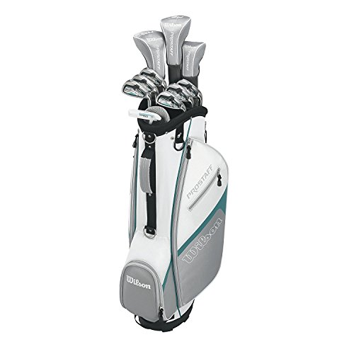 Wilson Staff Damen Golf - Schlägersätze PRO HDX GRA LLH 1/2 SET, Schwarz Mint, LH (Linke Hand), Regular