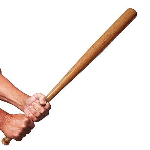 Baseballschläger aus Holz Schläger Massives Naturholz für den ambitionierten Freizeitsportler