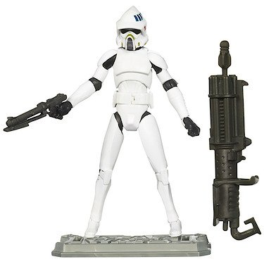 Star Wars Hasbro Figures Clone wars ARF Trooper- Star Wars Figure