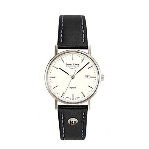 Bruno Söhnle Damen Analog Quarz Uhr mit Leder Armband 17-33106-241