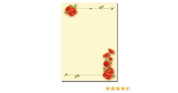 HERBSTGOLD Motiv-Briefpapier 20 Blatt DIN A4 90g//m²