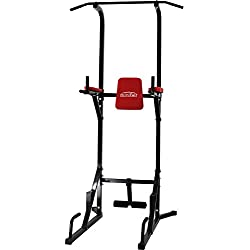 Schindora Multi Gyms Power Tower Dip Stands Push Sit Pull Up Gym Bar
