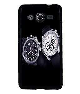 printtech Watches Back Case Cover for Samsung Galaxy Core i8262::Samsung Galaxy Core i8260