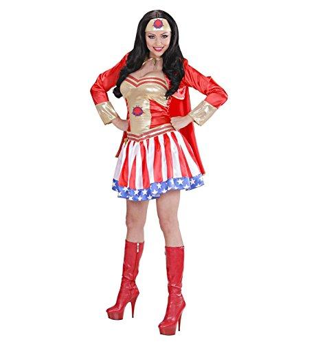 Widmann–Super Hero Girl Kostüm Heroin, in Größe S