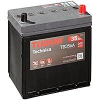 Tudor Exide Technica 35Ah, 12V. Dimensiones: 187 x 127 x 220. Borne derecha. Batería coche. 15% Más potente que las standard.