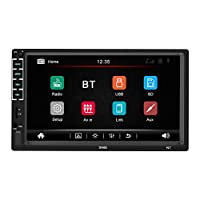 ‏‪Benkeg N7 Car Radio 7inch Bt Stereo Multimedia Player Touched Screen Autoradio FM AUX Audio HeadUnit MP5 Player Steering Wheel Control Remote Control‬‏