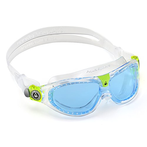 Aqua Sphere  - Gafas de natación junior seal 2, transparente (Blue lenses)