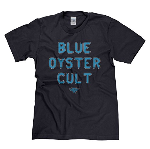 Rock is Relgion Blue Oyster Cult Classic Rock Musik Legends Retro-T-Shirt Marineblau