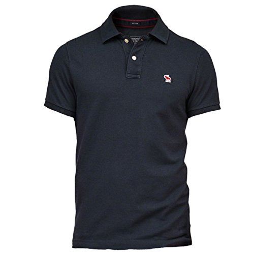 abercrombie-mens-new-icon-muscle-fit-polo-shirt-tee-size-l-navy-620805088