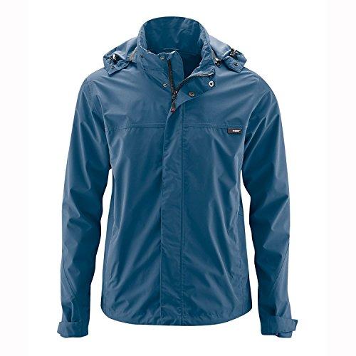 MAIER SPORTS Funktionsjacke Bret aus 100% PES in 10 Größen, Wander-Jacke/ Outdoor-Jacke/ Herren Jacke, wasserdicht und atmungsaktiv Blau - Ensign Blue