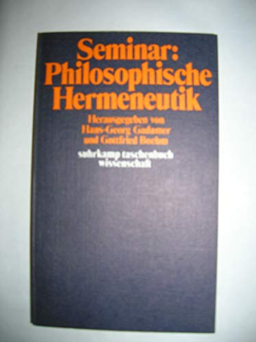 Seminar Philosophische Hermeneutik