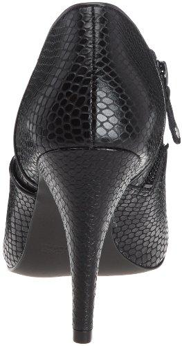 Rockport Presia Zip Shootie K72314 Damen Fashion Halbstiefel & Stiefeletten Schwarz (Black)