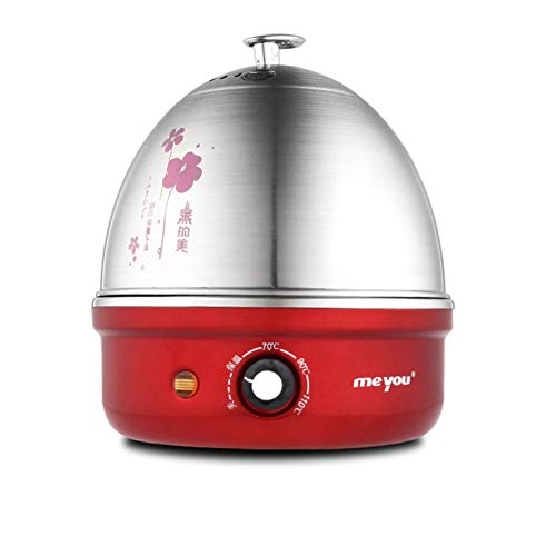 SS Küchengeräte Elektrischer Eierkocher automatische Abschaltung Edelstahl 304 einlagiges gedämpftes Ei Minikleines HausC