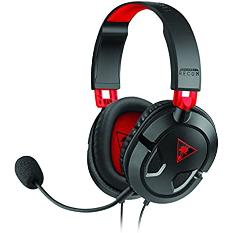 Turtle Beach - Auriculares Gaming Ear Force Recon 50 (PC, PS4, Xbox One, Mac, Móviles, Tabletas)