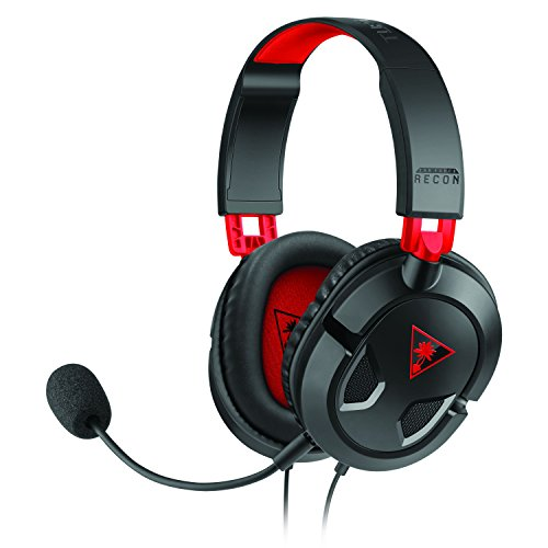 Turtle Beach Ear Force Recon 50 Gaming Headset for PC/Mac, PlayStation 4, mobile and Xbox One (compatible w/ new Xbox One controller) (TBS-6003-01)