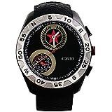 LISABOBO @ relojes de los deportes los hombres de la moda informal altímetro barómetro del reloj del compás del relogio masculino EZON h607a11
