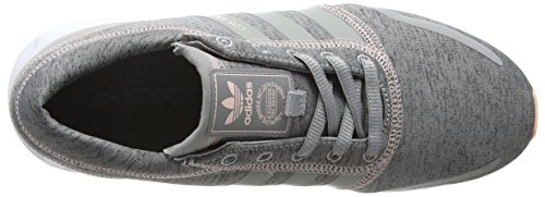 Adidas Los Angeles, Baskets Basses Athlétiques Pour Femmes Gris (mgh Solid Grey / Mgh Solid Grey / Chaussures Blanches)