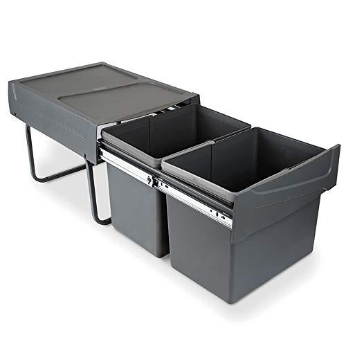Imagen de Cubos de Reciclaje Domestico Emuca por menos de 55 euros.