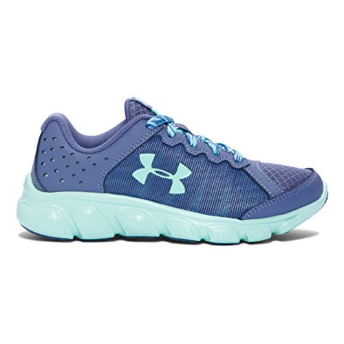 Under Armour Girls Pre School Assert 6 Aurora Purple/ Crystal/ Crystal