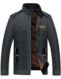 Chaqueta De Abrigo Para Hombre De Manga Larga Abrigo Grueso Abrigo De Moda De Los Hombres