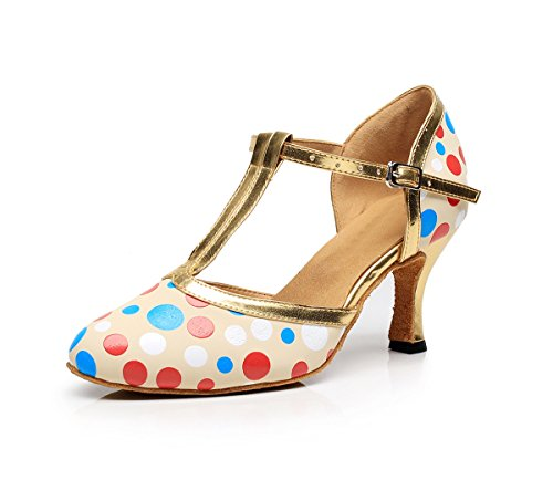 Minitoo - Ballroom donna Nude-7.5cm Heel
