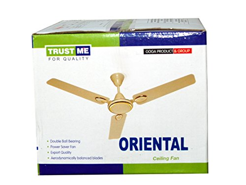 ORIENTAL 48 INCHES 3BLADE HIGH SPEED CEILING FAN(IVORY)