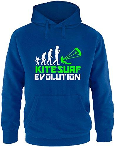 EZYshirt® Kitesurf Evolution Herren Hoodie