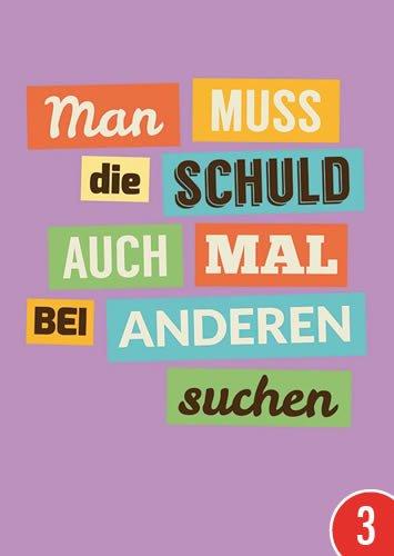 3er-pack-postkarte-a6-lustig-von-modern-times-man-muss-die-schuld-sticky-jam