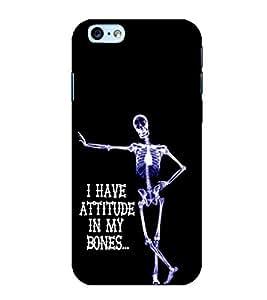 Print Masti Designer Back Case Cover for Apple iPhone 6 (Have Attitude My Bones)