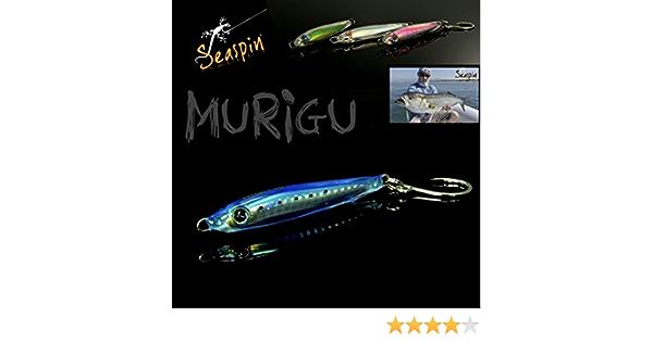 Artificial seaspin murigu 25s 75mm 25g AGU Jig for Tuna mangianze palamite