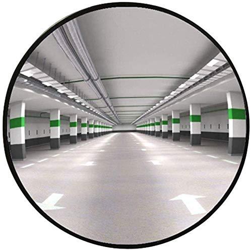 BXZ Außenverkehr Weitwinkelobjektiv, Konvexspiegel, Unzerbrechlicher Totwinkelspiegel , Für Auffahrt, Garagen- Und Lagersicherheit Panoramaspiegel Lager- Und Bürosicherheitsspiegel, Beobachtungsspieg