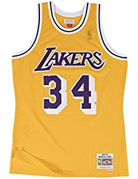 4602b9a3 Mitchell & Ness Lakers Shaquille Oneal 34 Camiseta Sin Mangas